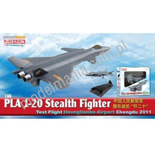 PLA J-20 Stealth Fighter, Test Flight, Heungtianba Airport, Chen Dragon 51030