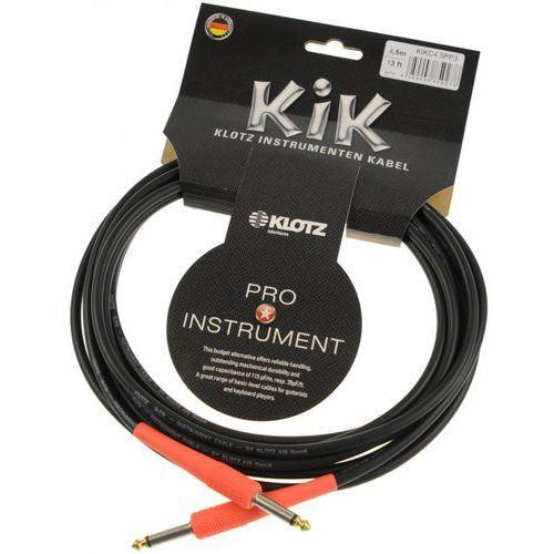 Klotz kikc 4.5 pp3 kabel instrumentalny 4,5m, czerwone końce
