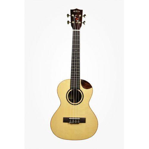 Kala solid bearclaw spruce ukulele tenorowe z scallop cutaway + case (uc-t)