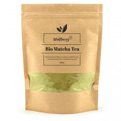 bio matcha herbata 200 g marki Wolfberry