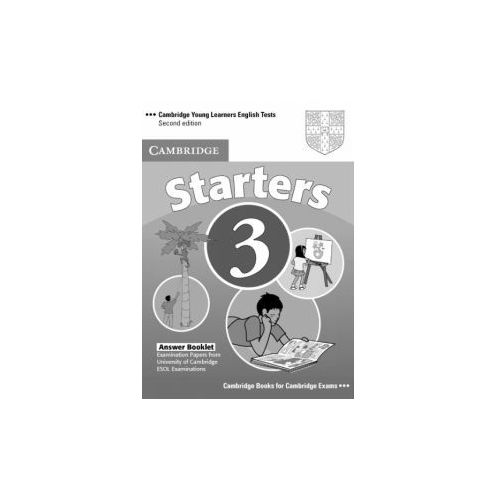 Cambridge Young Learners English Tests Second Edition Starters 3 Answer Booklet (9780521693615)