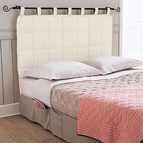 Pikowany zagłówek łóżka marki La redoute interieurs