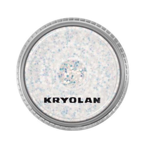 polyester glimmer coarse (pearl white) gruby sypki brokat - pearl white (2901) marki Kryolan