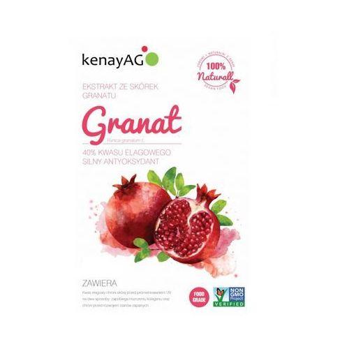 Granat liofilizowany sproszkowany owoc (40% kwasu elagowego) 200g marki Kenay ag