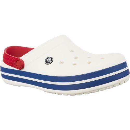 Crocs Chodaki crocband white blue jean white/blue jean