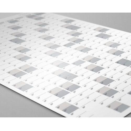 Planer kalendarz ścienny 2019 samoprzylepny suchościeralny B1 SCANDI