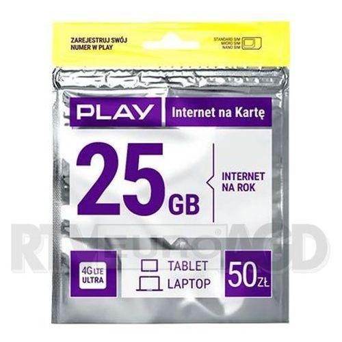 internet na rok 50pln marki Play