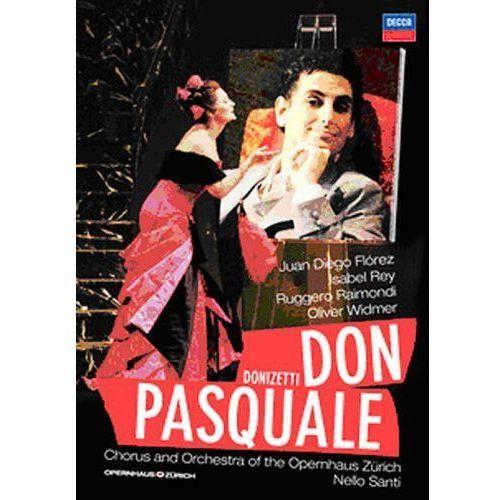 DONIZETTI:DON PASQUALE - Juan Diego Florez (Płyta DVD), 0743202