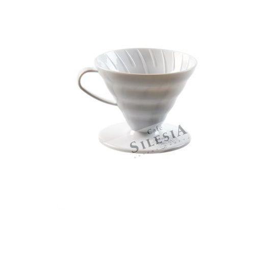 Hario Plastikowy dripper v60-02 biały