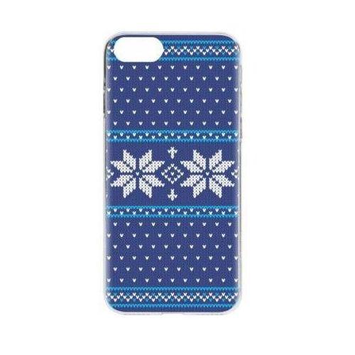 Etui case ugly xmas sweater do apple iphone 7/iphone 8 niebieski (26974) marki Flavr