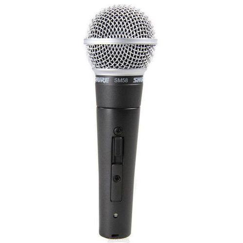 sm 58 se mikrofon dynamiczny z włącznikiem marki Shure