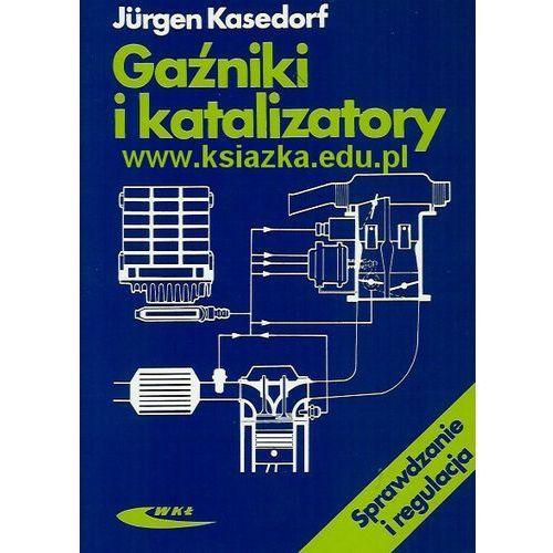 Gaźniki i katalizatory. sprawdzanie i regulacja marki Wydawnictwa komunikacji i łączności