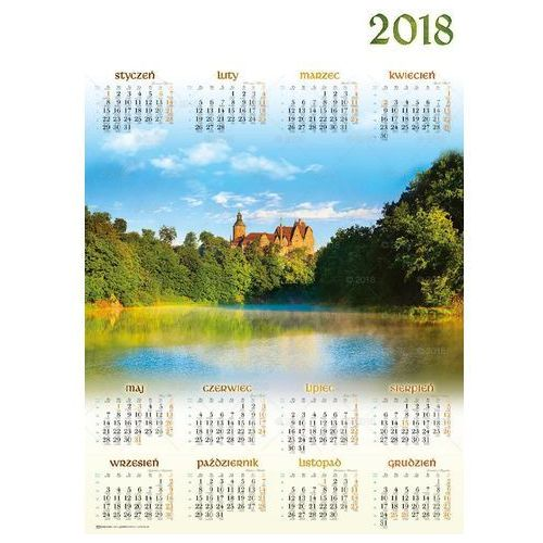 Kalendarz plakatowy A1 Zamek Czocha PL05