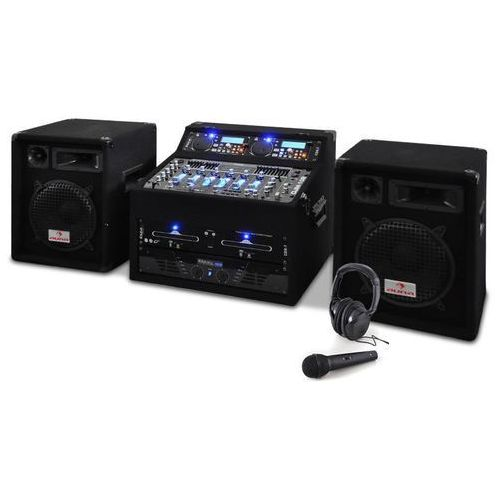 Zestawi DJ-ski Star Jupiter Shock 800 W z rackami