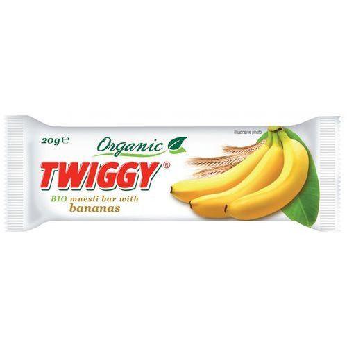 Twiggy (batony owocowe) Baton musli z bananem bio 20 g - twiggy