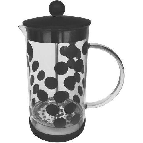 Zak! designs Kawiarka do zaparzania kawy dot dot 1 litr czarna