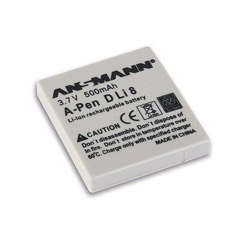 Ansmann Akumulator do pentax a-pen d-li 8 (500 mah)