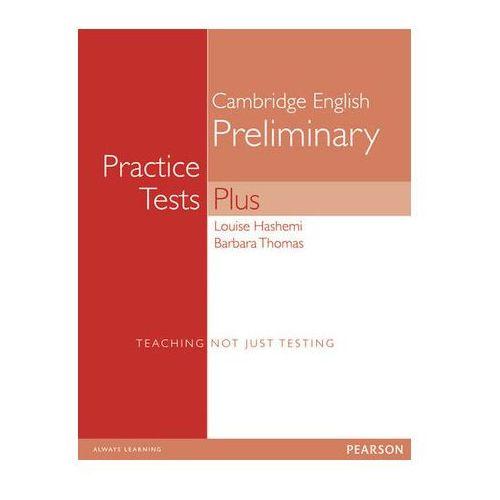PET Practice Tests Plus 1 Student's Book (podręcznik) without key, oprawa miękka