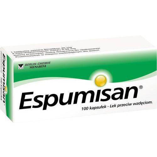 Espumisan, kapsułki, 40 mg, 100 szt (lek na wzdęcia)