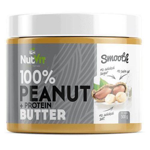 peanut + protein butter - 500g marki Nutvit