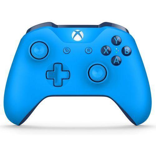 Microsoft Kontroler xbox one niebieski + kontroler 20% taniej przy zakupie konsoli xbox! + zamów z dostawą jutro! + darmowy transport!