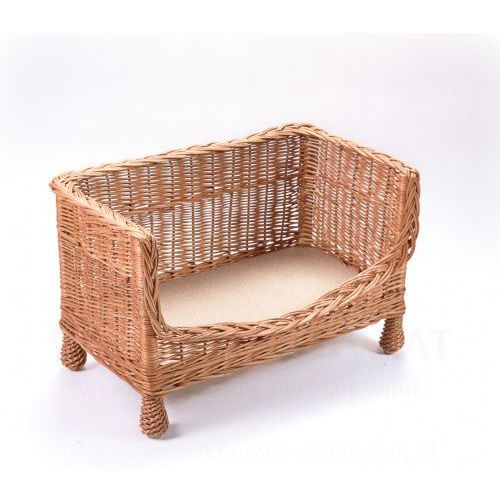 Wyroby z wikliny pph jan wnuk Wiklinowa sofa dla zwierząt, ławka, kanapa dla kota, psa