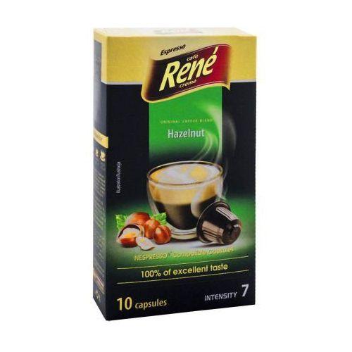 Rene Hazelnut (kawa aromatyzowana orzechowa) kapsułki do Nespresso – 10 kapsułek, 2801