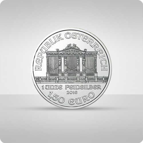 Wiedeńscy filharmonicy 1 uncja srebra - wysyłka 24 h! - 24h marki Münze Österreich