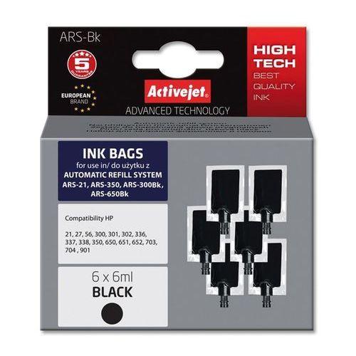 Activejet tusz ARS-BK (6x6ml black) Darmowy odbiór w 20 miastach! (5901452157272)