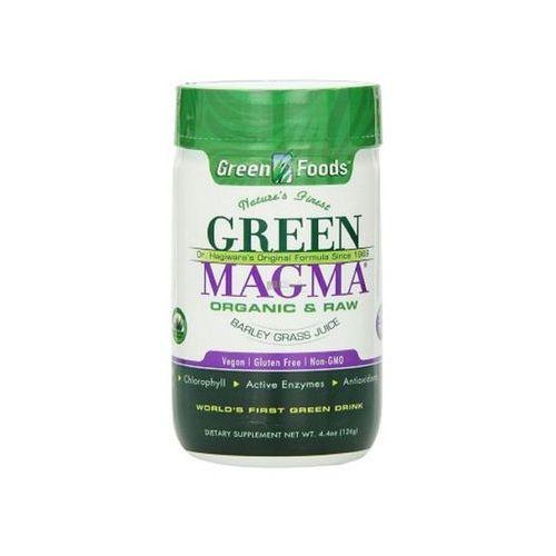 GREEN MAGMA SOK Z EKOLOGICZNYCH LIŚCI MŁODEGO JĘCZMIENIA 250 TABLETEK GREEN FOODS USA SUPLEMENT DIETY