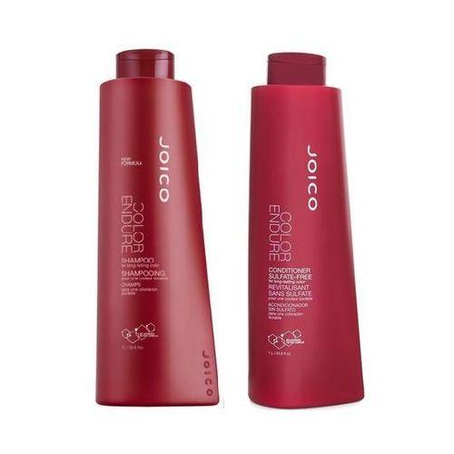 Joico color endure zestaw do włosów farbowanych | szampon 1000ml + odżywka 1000 ml (9753197531632)
