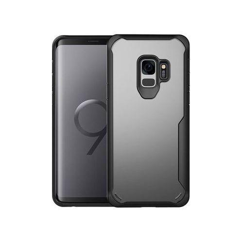 Etui Alogy slim armor Samsung Galaxy S9 + Szkło, kolor czarny
