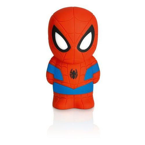 DISNEY - Lampka nocna na baterie Softpal LED Spiderman 12,5cm (8718696124154)