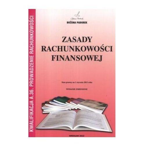 Zasady rachunkowości finansowej, podręcznik, Padurek, Padurek