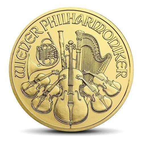 Münze Österreich Wiedeńscy filharmonicy 1/10 uncji złota - 15 dni