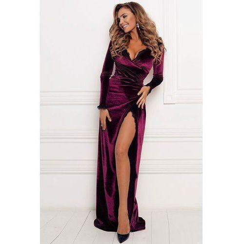 Sukienka BIANA BORDO, kolor czerwony