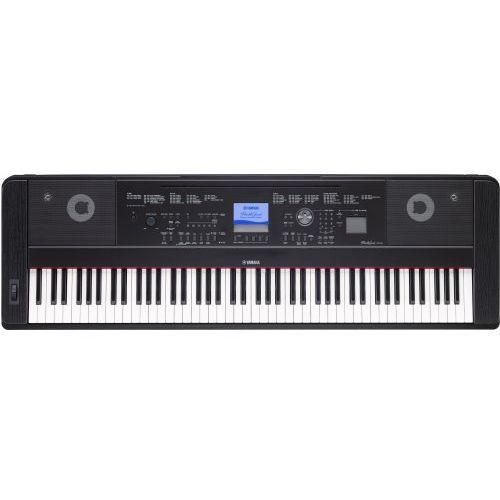 Yamaha DGX 660 B keyboard z ważoną klawiaturą (88 klawiszy), czarny + słuchawki Yamaha HPH 50 WH