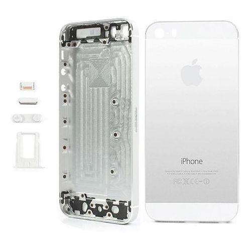 Tylny Korpus Obudowy Komplet iPhone 5S (Srebrny)