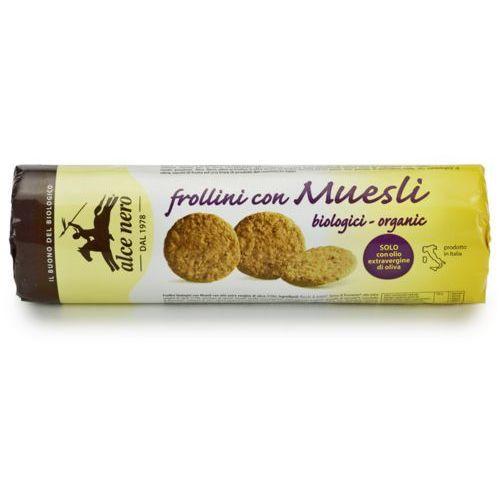 Alce nero (włoskie produkty) Herbatniki musli bio 250 g - alce nero (8009004811249)