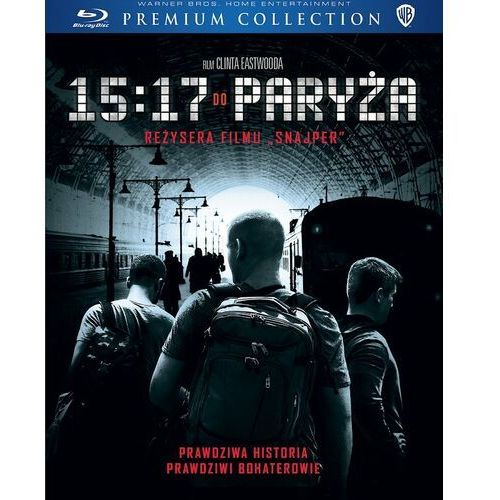 15:17 do paryża (dvd) premium collection (płyta bluray) marki Clint eastwood