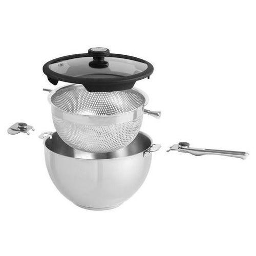 Mastrad Garnek + wkład do gotowania na parze balancia  3 el. odbierz rabat 5% na pierwsze zakupy (3485990619000)