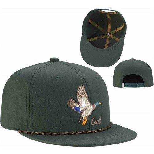 czapka z daszkiem COAL - The Wilderness SP Forest Green (Duck) (04), kolor zielony