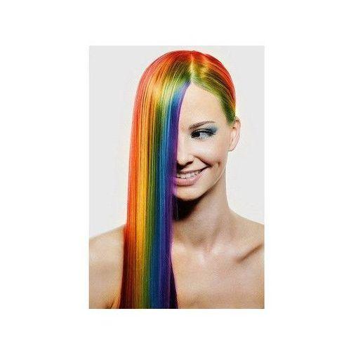 Go Zmywalny kolorowy spray do włosów 125 ml - biały