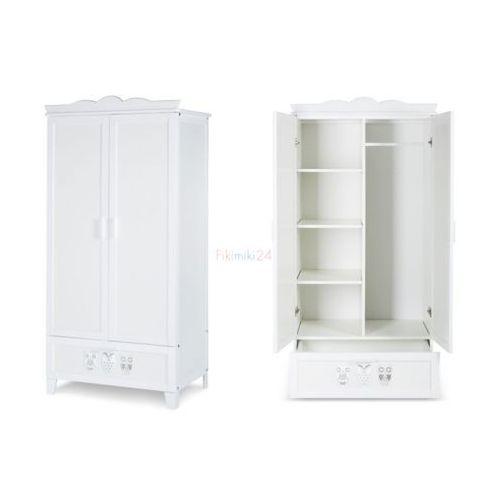 szafa dwudrzwiowa marsell biała marki Klupś