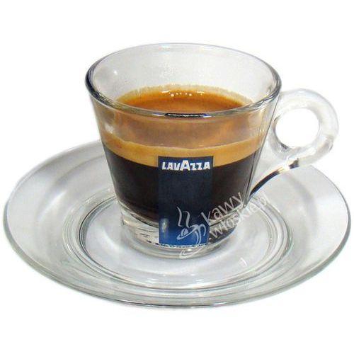 Filiżanka szklana do kawy espresso 70ml - LAVAZZA ze sklepu Konesso.pl