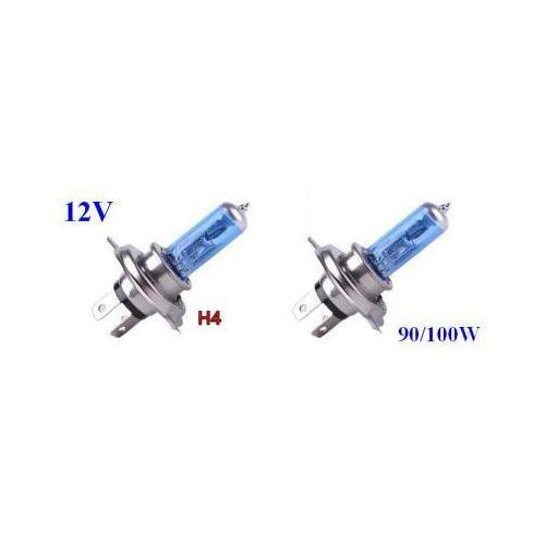 Żarówki (2szt.) samochodowe h4 (12v) xenon h.i.d. blue vision (moc 100/90w) - homologowane. marki Lumiko usa