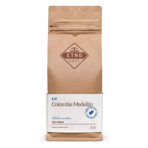 Kawa Etno Cafe Colombia Medelin 1000g COLMED1000LF, 2333