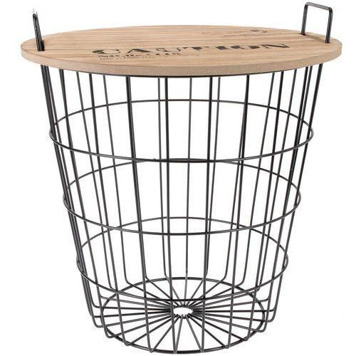 Wielofunkcyjny koszyk do przechowywania - siedzisko, 2w1 (8718158622266)