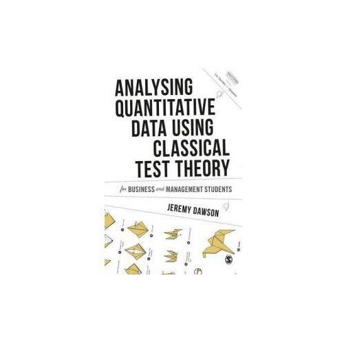 Analysing Quantitative Survey Data for Business and Manageme (9781473907515)