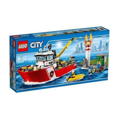 Lego City Łódź strażacka (straż pożarna zabawka) od SELKAR